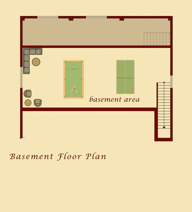 Moush Model Basement Plan