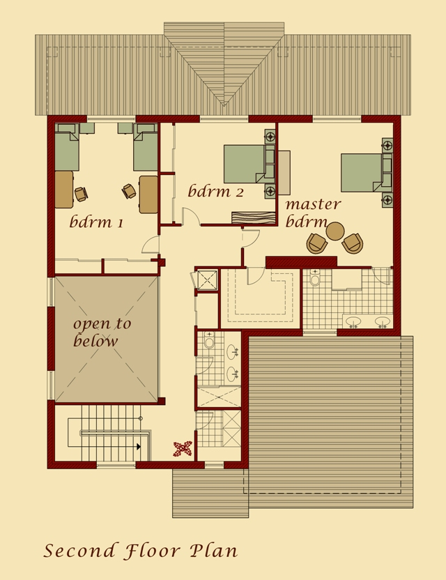 Moush Model Second Floor Plan